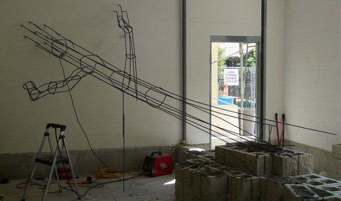MONKEY-EXHIBIT-Concrete-LOGS-Rebar
