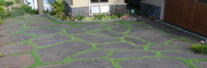 How To DIY Lava Stone Driveway