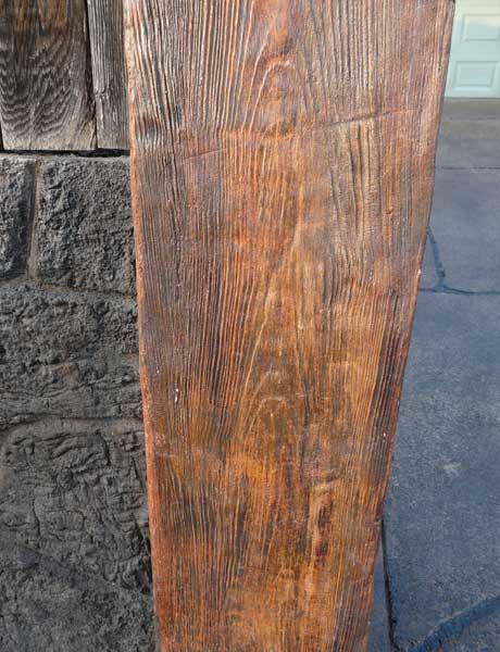 Wood-Veneer-Concrete-block-columns-Step-8