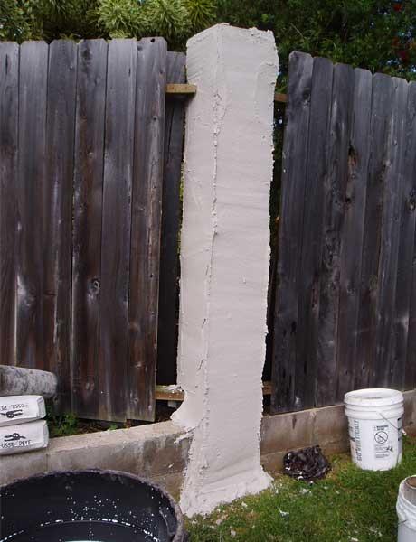 Wood-Veneer-Concrete-block-columns-Tru-Pac-X