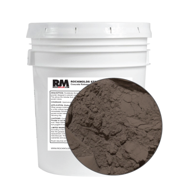 Powdered Release: Arrow Head Brown 25 lb