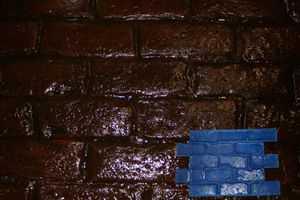 RockMolds Capone Cobblestone Concrete Stamp Blue Rigid CSSR-CCBL
