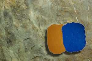 RockMolds CSSSS-SAND Colorado Sandstone Seamless Skin Concrete Stamp Set – 6 pc