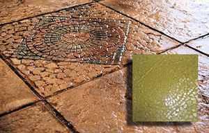RockMolds CSSR-WMT4 Weathered Mosaic Tile Concrete Stamp Set – 4 pc