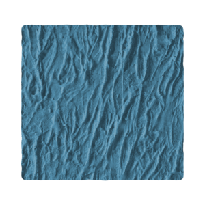 RockMolds LS105F Hawaiian Stone – Classic Braided Lava, Seamless Skin Concrete Stamp, 18″, Floppy