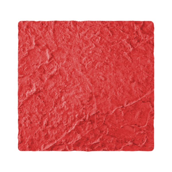 RockMolds LS204F Hawaiian Stone – Aggressive Texture, Light Salt Swirl, Seamless Skin Concrete Stamp, 24″, Floppy