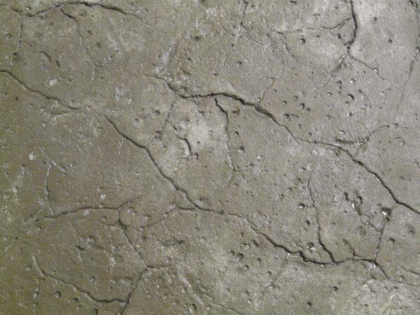 RockMolds LS302R Hawaiian Stone – Mini Fault Lines, Moderate Salt Texture, Seamless Skin Concrete Stamp, 36″, Rigid