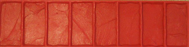 RockMolds Cut Stone Border Concrete Stamp Set – 4 pc. CSS4-CSBR