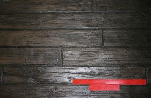 RockMolds Weathered Wood Wood Plank Concrete Stamp – Red CSSR-WWP4