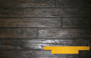 RockMolds Weathered Wood Wood Plank Concrete Stamp – Yellow ZONR-WWP6