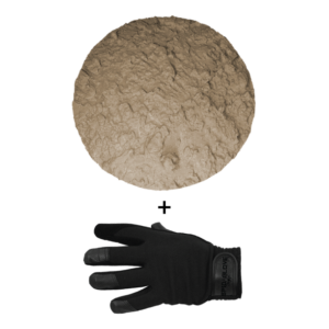 SpidaStamp: Half Moon Bay Boulder, Seamless Skin, 9″, Floppy With Gloves
