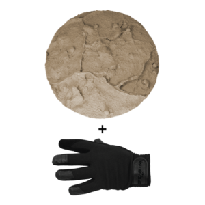 SpidaStamp:  Maui Choke Puka Hana Stone, Seamless Skin, 9″, Floppy With Gloves