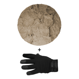 SpidaStamp:  Maui Kaupo Stone, Seamless Skin, 9″, Floppy With Gloves