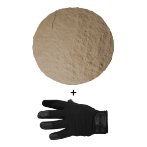 SpidaStamp:  Lone Star Quartz, Seamless Skin, 9″, Floppy With Gloves